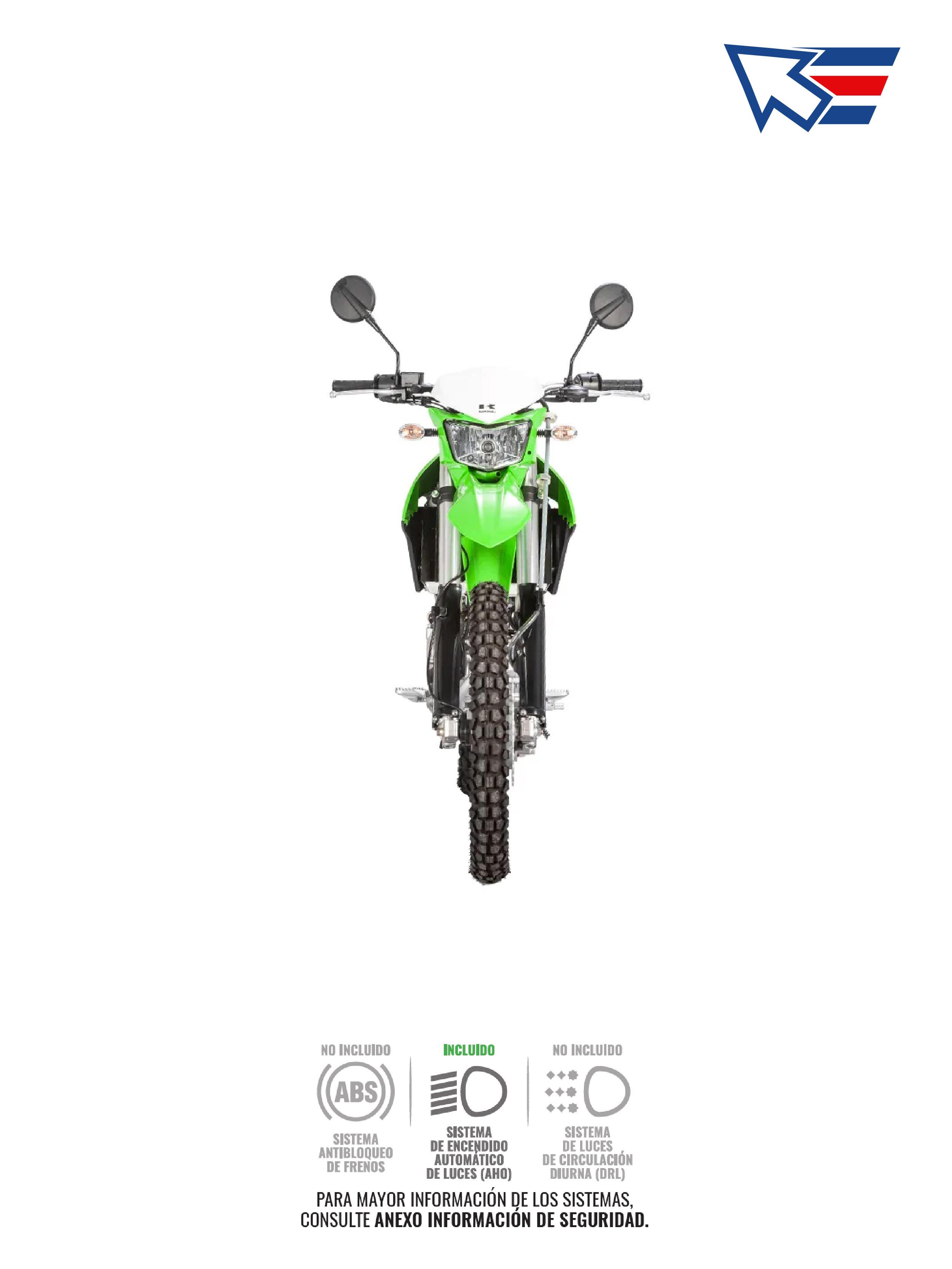 Kawasaki KLX 250 S 2019